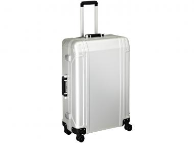 Zero Halliburton Geo Aluminium 4 Wheel Spinner Travel Case 28 Zoll