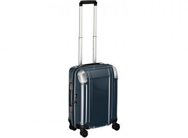 Zero Halliburton Polycarbonate Zipped Carry on 4 Wheel Spinner Travel Case gunmetal