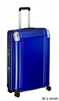 Zero Halliburton Polycarbonate Zipped 4 Wheel Spinner Travel Case 28 Zoll blue