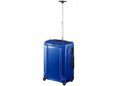 Zero Halliburton Air Collection Superlight Carry on 4 Wheel Spinner Travel Case blue