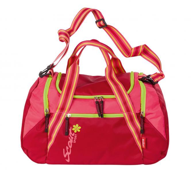 Sportbag 28 cherry/pink