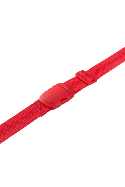 Luggage Strap 3,8cm wide 2 Poppy Red