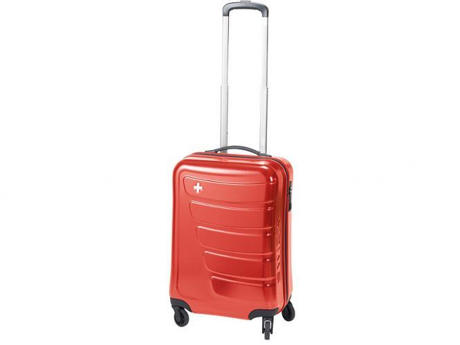 Trolley 4-Rollen rot