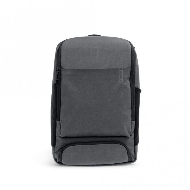 *Sleek* Business Backpack mit Laptopfach Storm Grey