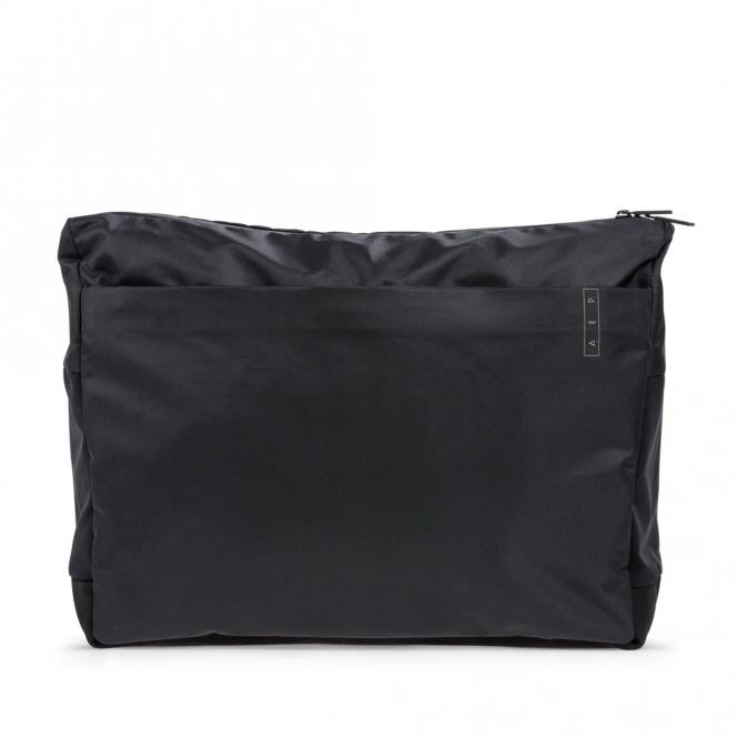 *Sleek* Business Messenger Bag mit Laptopfach Simple Black