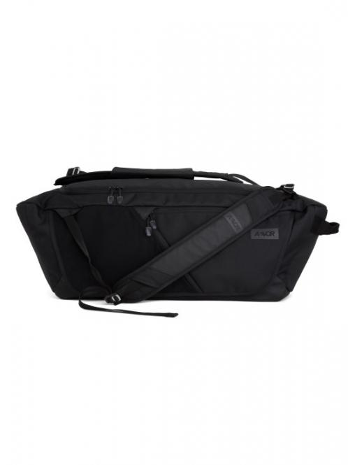 Duffle Bag Rucksack black eclipse