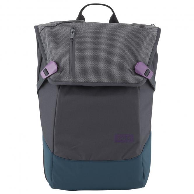 """Daypack Rucksack mit Laptopfach 15"""" Echo Purple"""