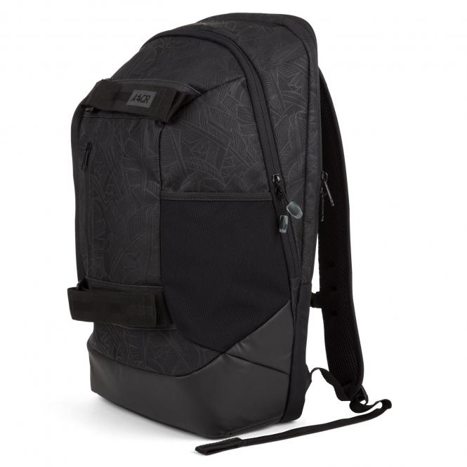 Bookpack leaf black