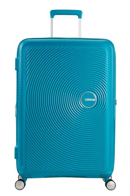 Trolley M 4R 67cm, erweiterbar Summer Blue