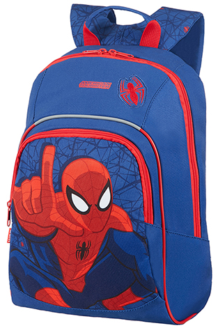 Backpack S+ Pre-School Marvel Spiderman Web
