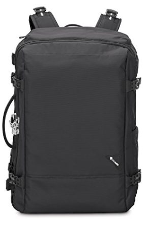 Anti-theft 40L backpack schwarz