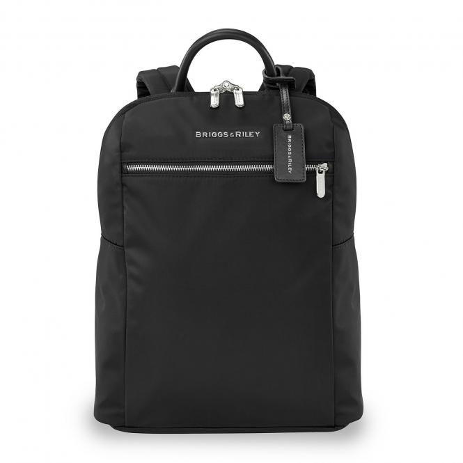 Slim Backpack schwarz
