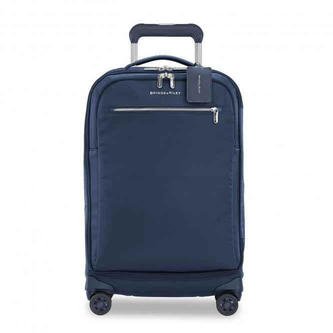 Tall Carry-On 4-Rollen-Trolley navy