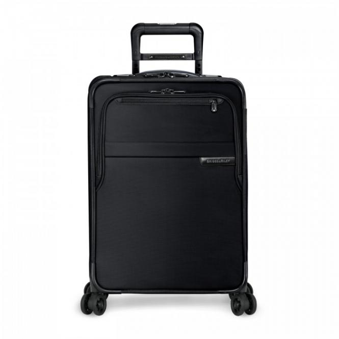 Domestic Carry-On Expandable Spinner Black
