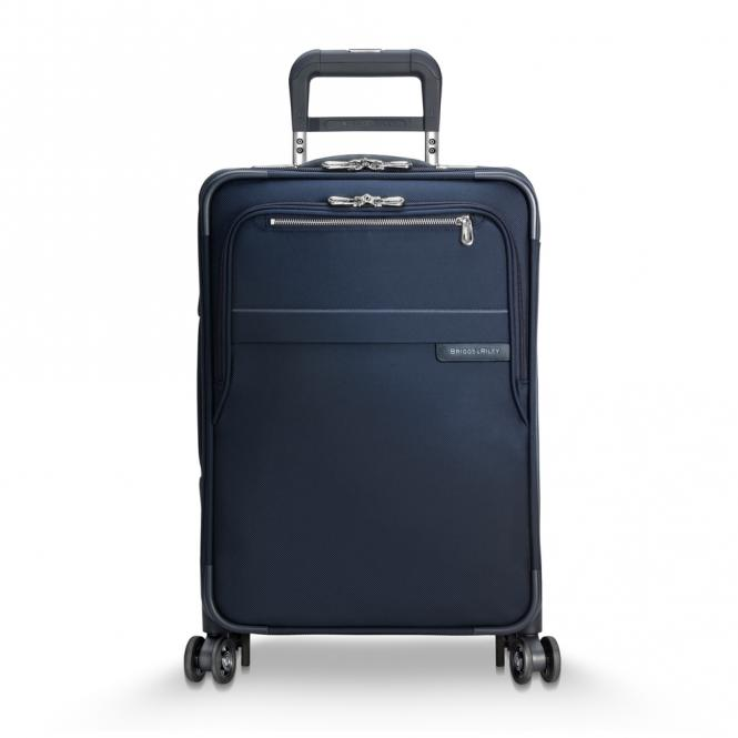 Domestic Carry-On Expandable Spinner Navy Blue