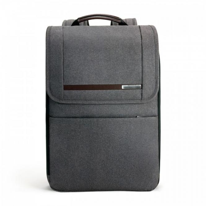 "Flapover Expandable Backpack mit Laptopfach 15.6"" Grey"