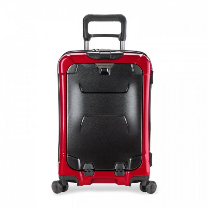 "International Carry-On Spinner mit Laptopfach 15.6"" Ruby"