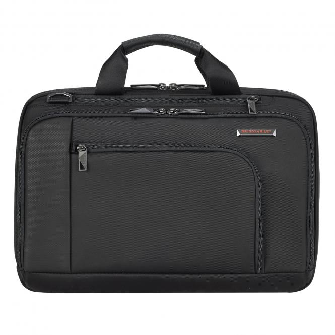 "Connect Brief mit Laptopfach 15.6"" Black"