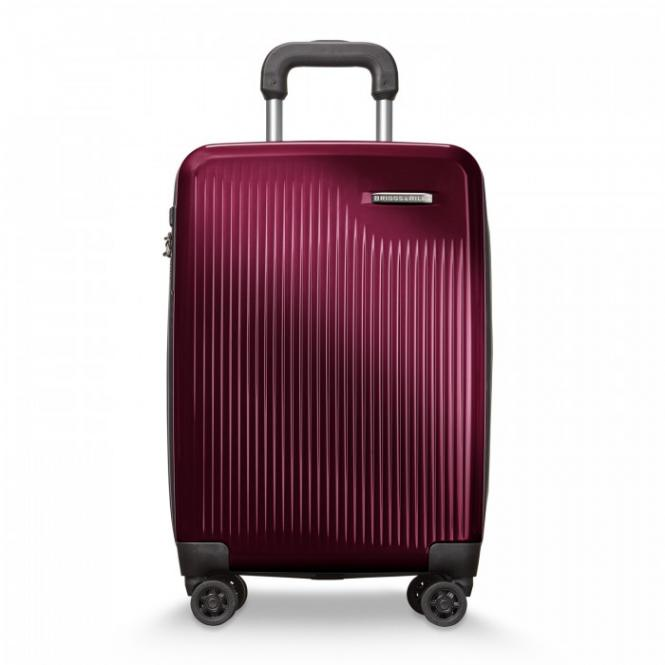 International Carry-On Expandable Spinner Burgundy