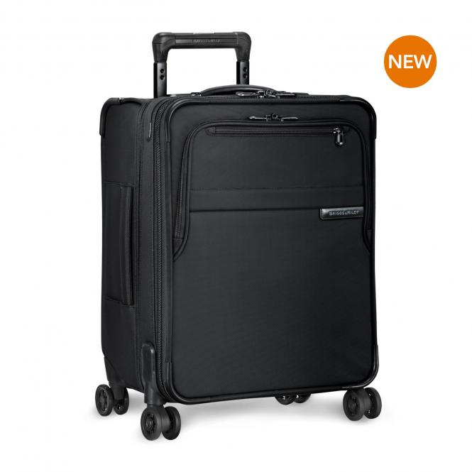 International Carry-On Expandable Wide-body Spinner Black