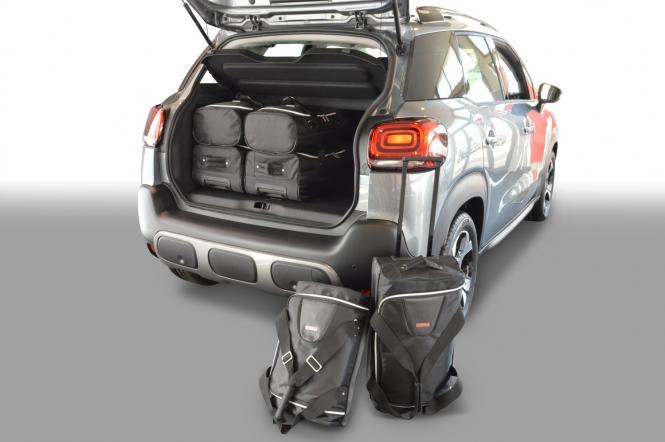 Reisetaschen-Set 5T ab 2017 (verstellbarer Ladeboden in oberer Position) | 3x47l + 3x29l