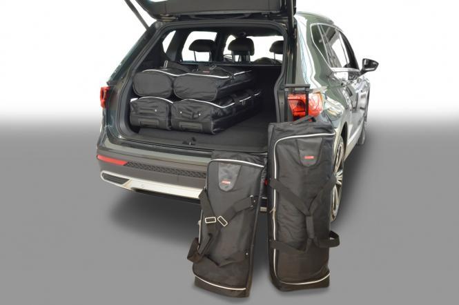 SUV (KN) Reisetaschen-Set ab 2019 (7-Sitzer mit 3. Sitzreihe umgeklappt) |3x70l + 3x45l