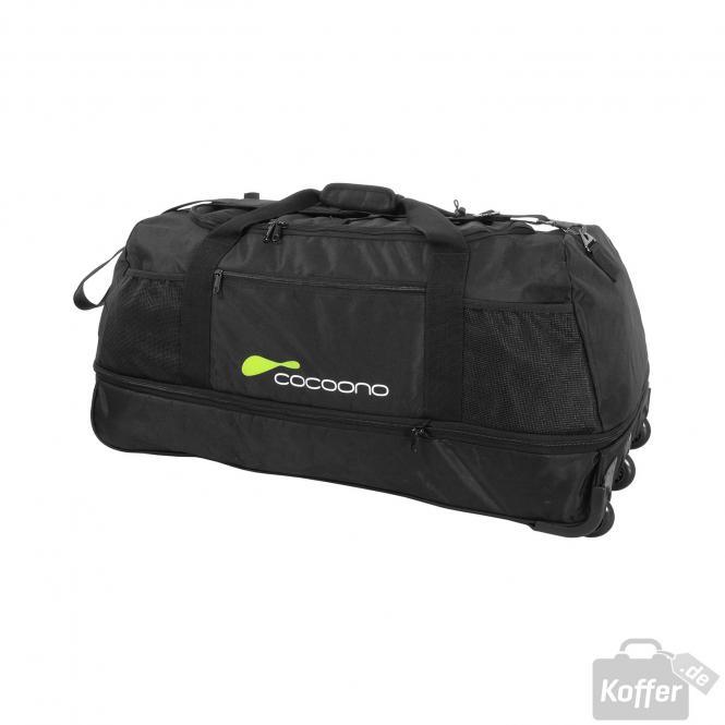 Reisetasche XL zusammenrollbar schwarz