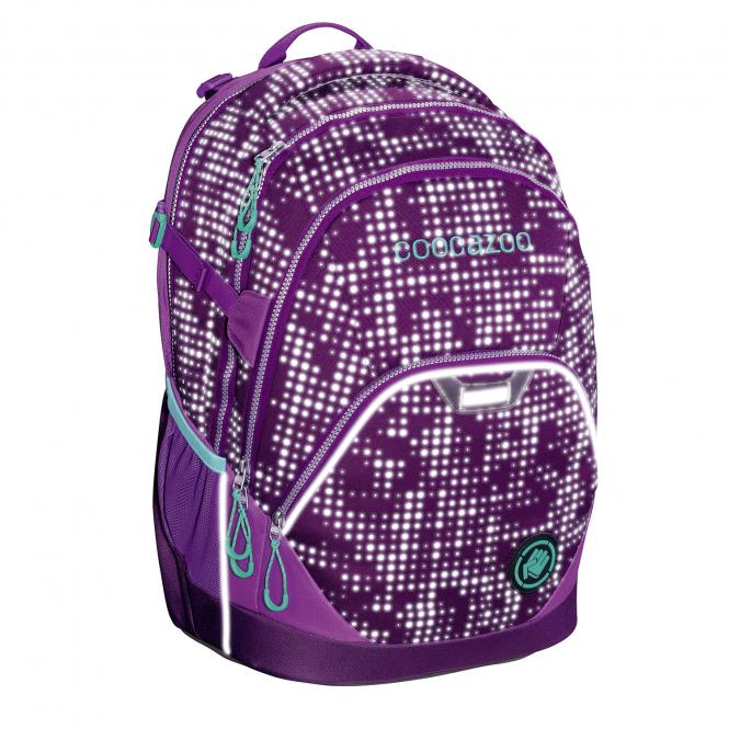 EvverClevver 2 Rucksack *EffectiveReflective Edition* Purple Galaxy Reflective