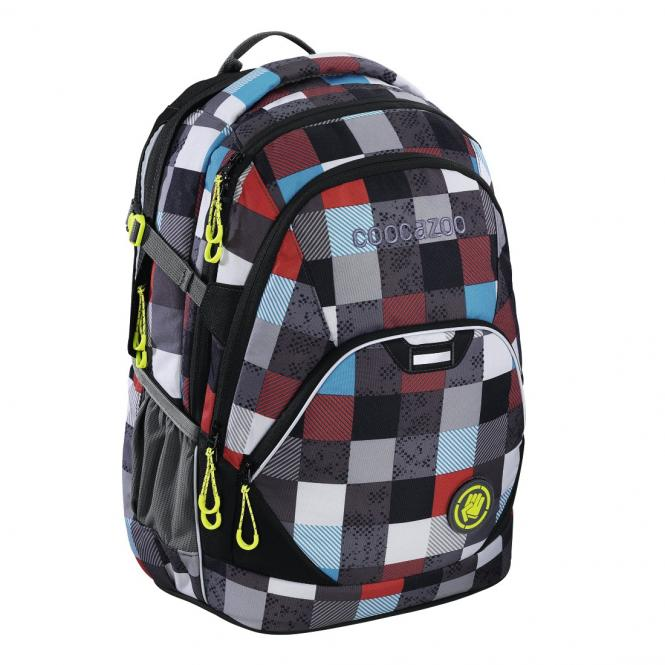 EvverClevver 2 Rucksack MatchPatch Checkmate Blue Red