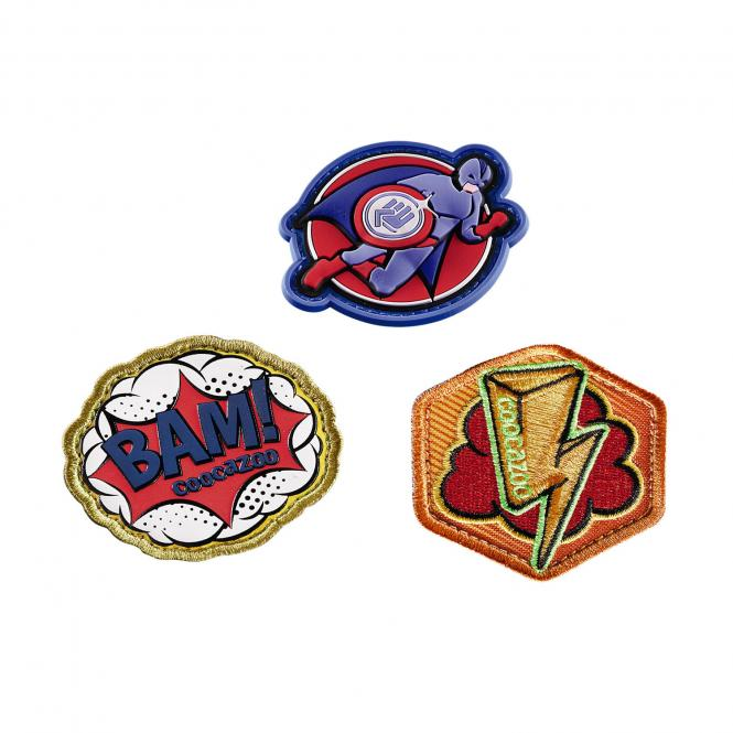 Patches-Set StyleTyle 3-teilig Superhero