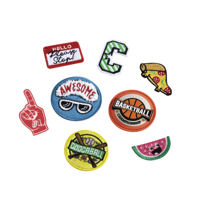 Patches-Set 8-teilig Sport