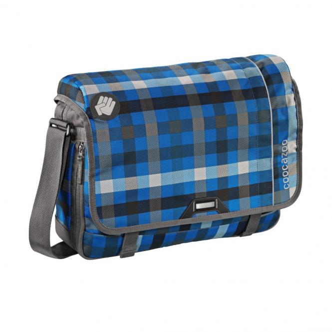 Schultertasche Hip To Be Square Blue