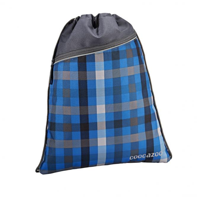 Sportbeutel RocketPocket Hip To Be Square Blue
