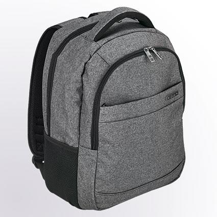 "Rucksack mit Laptopfach 15"" - 5610 grau"