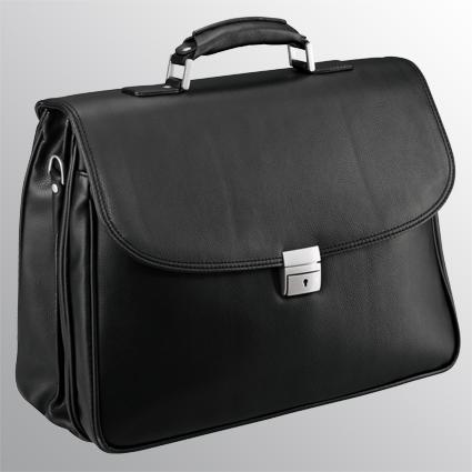 """Aktentasche mit Laptopfach 15"""" - 5379 schwarz"""