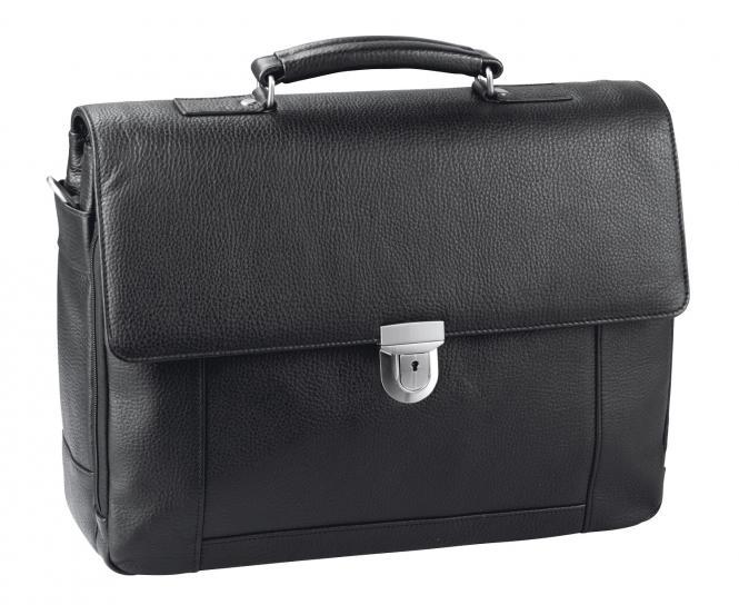 """Aktentasche mit Laptopfach 15"""" - 5531 schwarz"""