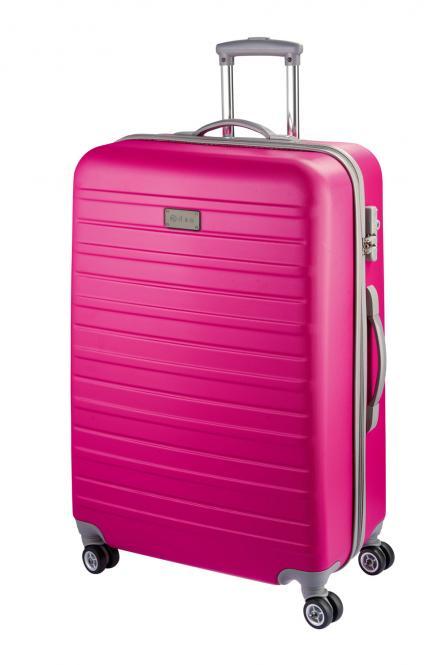 Trolley M 4R 66cm - 9460 pink