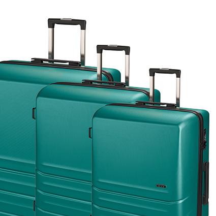 Trolley-Set 9800 4R, 3-tlg. S/M/L grün