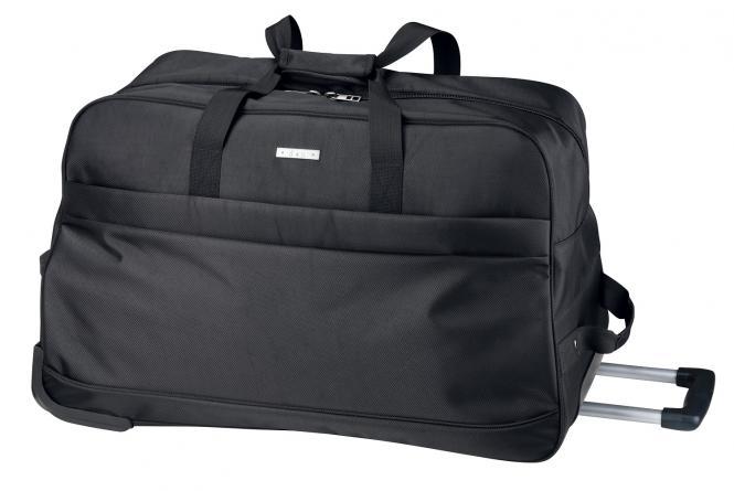 Reisetasche mit Rollen- 5615 schwarz