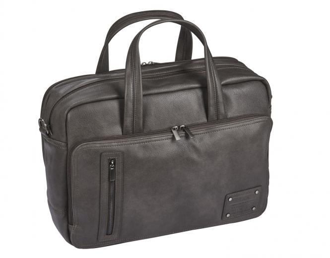 "Business Bag mit Laptopfach 15"" - 5215 grau-silber"