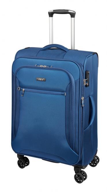 Trolley M 4R, erweiterbar 68cm 6464 blau