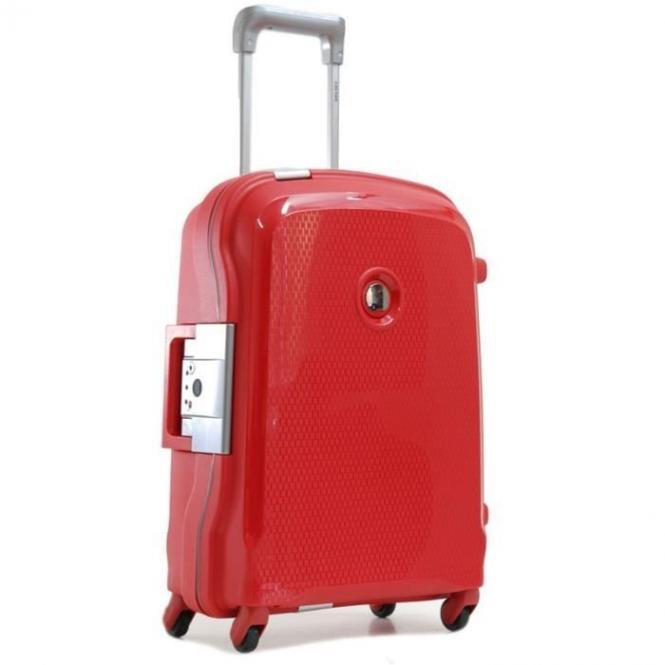 Trolley 4 Rollen 55cm Rot