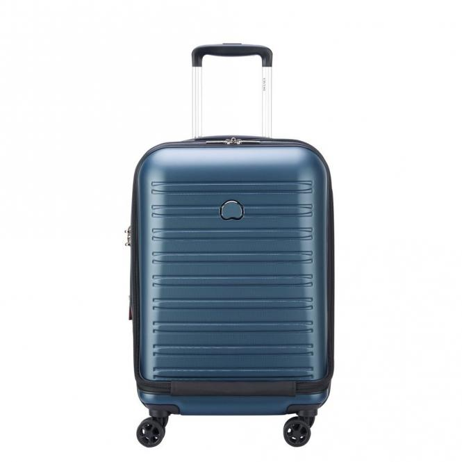 Business-Trolley 4 Rollen 55cm Blau