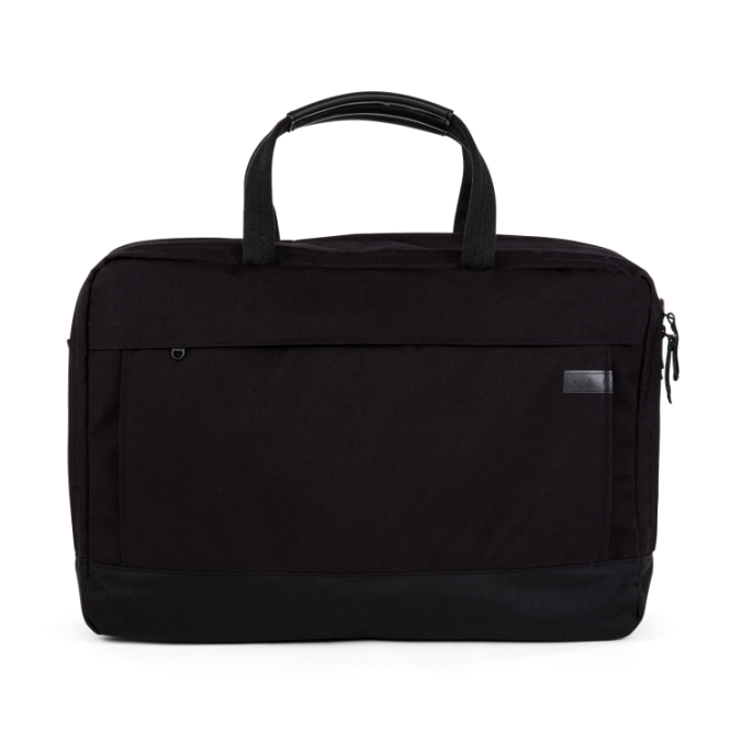 Large Essential Work Bag mit Laptopfach Pitch Black