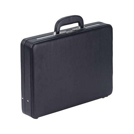 Leder Aktenkoffer 1306N schwarz