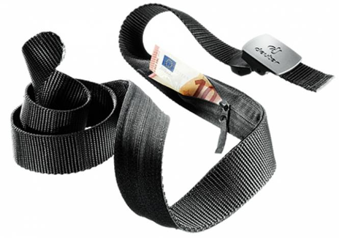 Security Belt Geldgürtel black