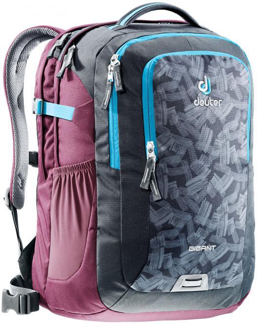 "Rucksack School & Daypack 17,3"" granite brush-blackberry"