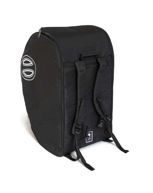 Gepolsterte Reisetasche schwarz