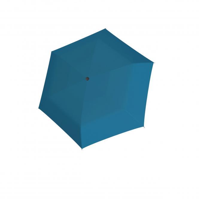 Slim Manuell Taschenschirm Uni Ultra Blue