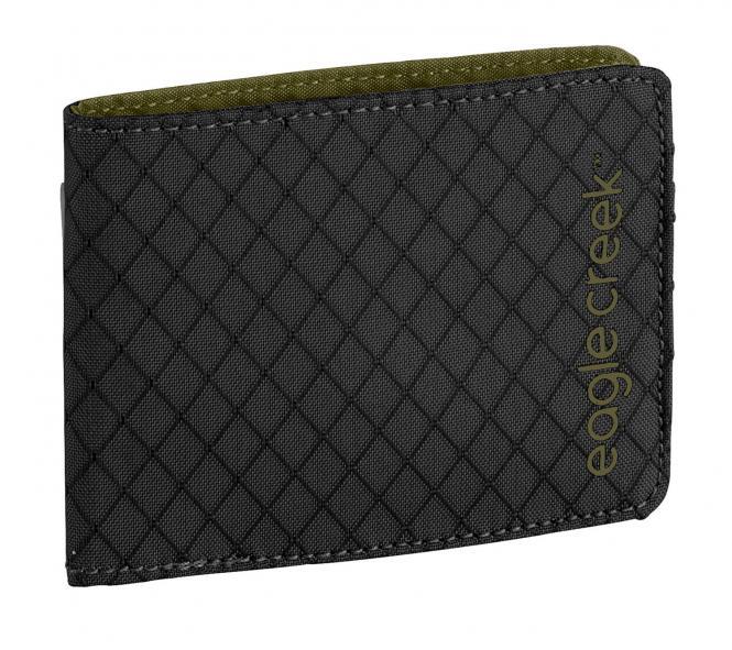 RFID Bi-Fold Wallet Jet Black